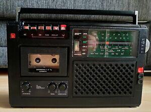 Kassetten Recorder R4200 RFT VEB Stern Radio DDR  - Weltempfänger - 104 Mhz
