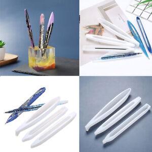 UV Resin Epoxy Resin Casting Mold Handmade Ballpoint Pen Penholder Mold
