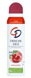 CD Deodorant Spray:POMEGRANATE 150ml-Made in Germany-FREE SHIPPING