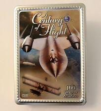 Century of Flight (DVD, 2004, 4-Disc Set) Tin Box 100 years of Aviation