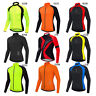 Men's Cycling Jersey Long Sleeve MTB Road Mountain Bike Racing Tops Quick Dry