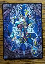 Magic the Gathering MTG altered art Basic Land Kingdom Hearts Island