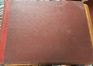 Vintage Ledger 1950s Seed Grain Company Sales Accounts Book Farming Agriculture