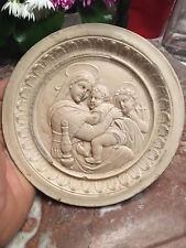 La vierge à la chaise RAPHAEL Médaillon XIX 19 ème