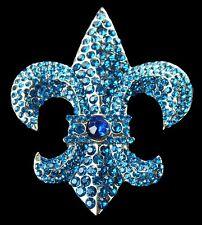 Quebec Fleur De Lys Flag Belt Buckle Rhinestone Coolbuckles Boucle de Ceinture