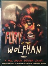 Fury of the Wolfman - DVD- Brand New Sealed- Fast Ship! OD-131