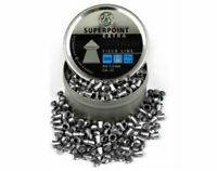 500 X RWS SuperPoint .22 / 5.5mm Field Line Extra Pointed Pellets - Full Tin