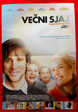Eternal Sunshine Of The Spotless Mind Carrey Winslet Unique Serbian Movie Poster