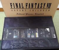 Final Fantasy VII Advent Children Adbent Pieces Limited Cloud figure PS FF7 BOX