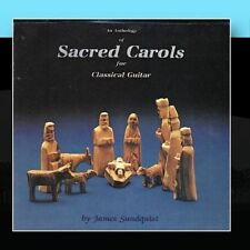 NEW An Anthology of Sacred Carols for Classical Guitar (Audio CD)