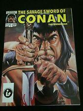 SAVAGE SWORD OF CONAN #139 VFNM Condition