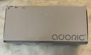 "Adoric Memory Foam Pillow King White Cover 20x36"""
