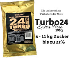 Turbohefe turbo yeast Alcopure 24 Turbo ExtraPure Alkohol Brennhefe Gärhefe 190g