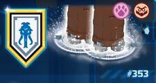 Lego ® 100% Offizielle Nexo Power Shield weiß Lance Mammoth #353 [NEU]