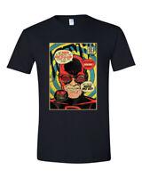 Stan Lee Daredevil Comic Book Cover Graphic T Shirt