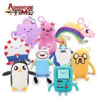 Adventure Time Plush Soft Toy Jake Finn BMO Princess Lumpy Space Bonnibel Gift