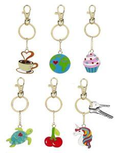 Ganz E9 Car Purse Backpack Keychain Sweet Talk Enamel Key Ring ER52916 Choose