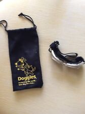 Doggles Chrome Frame w/Smoke Lense & Carrying Case - Small