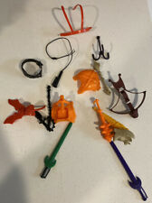 MOTU Vintage Weapons and Accessories Lot Masters of the Universe