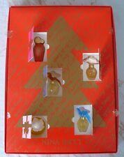 """Coffret 5 Miniatures Nina Ricci """"Calendrier de l'avent"""""""
