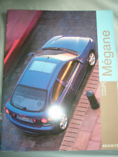 Renault Megane Coupe range brochure Aug 1998 Norwegian text