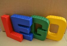 Personalised Building Block Letters Custom Name/Word Sign 10cm High Papier Mache