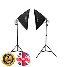 1050W Softbox Continuous Lighting Kit Product Photography Video Lights UK Stock