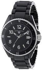 USED Swiss Legend Luminar Men's Black Ceramic Quartz Watch 11528-BKBWA