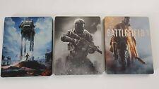 3 Steelbooks - Battlefield + Call of Duty Inf. Warfare + Star Wars Battlefront