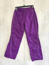 REI Kids M 10-12 Purple Nylon Pants Excellent!