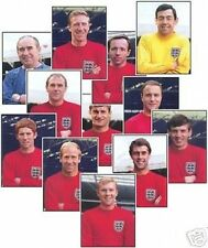 England Player Portrait 1966 World Cup Trading Card Set