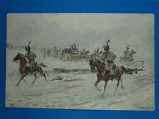ART POSTCARD RUSSIA PAINTING V. MAZOUROVSKY :Napoleon 1812 ОТКРЫТКА АНТИКВАРИАТ