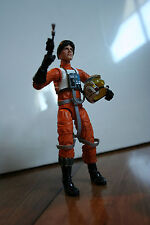 CUSTOM WEDGE ANTILLES STAR WARS Black Series 6 Inch Action Figure x-wing PILOT