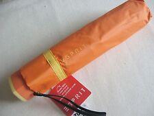 ESPRIT Regenschirm Taschenschirm orange / gelb Bicolor  kompakter Schirm