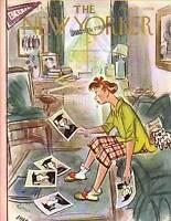 1952 New Yorker May 24 - Picking Graduation Photos
