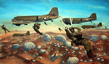 """""""You Have Your Orders"""" James Dietz Artist Proof - Operation Torch, North Africa"""