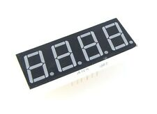 "1 Pcs 0.56"" 7 Segment 4 Digit Super Red LED Display Common Anode 12 pins PCB"