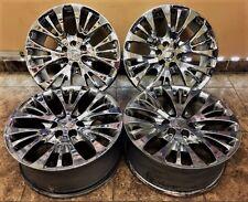 "OEM GM Chrome Escalade Suburban Tahoe Denali  22"" inch wheels Rims Factory 4set"