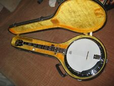 Vintage Epiphone Masterbuilt MB 250 Banjo w/Hard Case