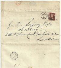 1867 Torquay report stampato riparazioni rilievo Schooner CLARENCE-Richard Walker