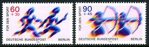 Germany-Berlin 9NB157-9NB158, MNH. Sport. Runners, Archers, 1979
