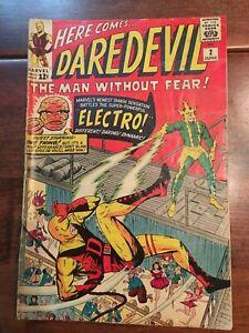 Marvel Comics - Daredevil  #2  June 1964   Original!  Authentic!!