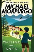 Waiting for Anya by Michael Morpurgo, Very Good Used Book (Paperback) Fast & FRE