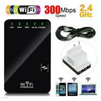 WIFI Repeater Mini Router AP WLAN 2.4GHz Wireless Verstärker Extender 300Mbit/s