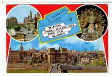 Postcard: Multiview - Beauties of the City, Valencia, Spain