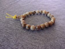 Elasticated Picture Jasper Power Bracelet