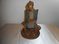 """Tom Clark 1987 8"""" Sculpture """"Rebecca"""" Signed & Numbered '76' - Good Condition!"""