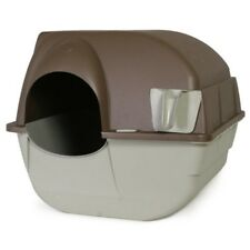 Omega Paw Roll'n Clean Self Cleaning Litter Box Cat Kitten Easy No Mess Pan NEW