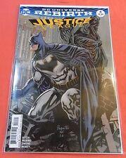 DC UNIVERSE REBIRTH  JUSTICE LEAGUE #4 -  Variant cvr (2016) - !!