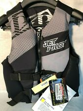 Jet Pilot HYBRID Neoprene Life Vest Jacket BLACK SMALL CYCLESPRINGS